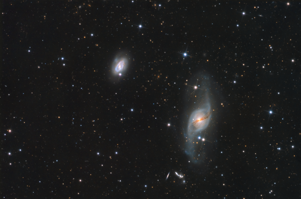 NGC3718 CCD image taken by Pere Gil at Montsec