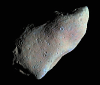 Although Gaspra is not a near-Earth asteroid it is interesting, nonetheless.